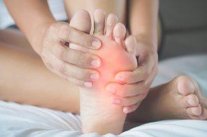 Metatarsalgia dor na almofada plantar Clínica PodoSaúde