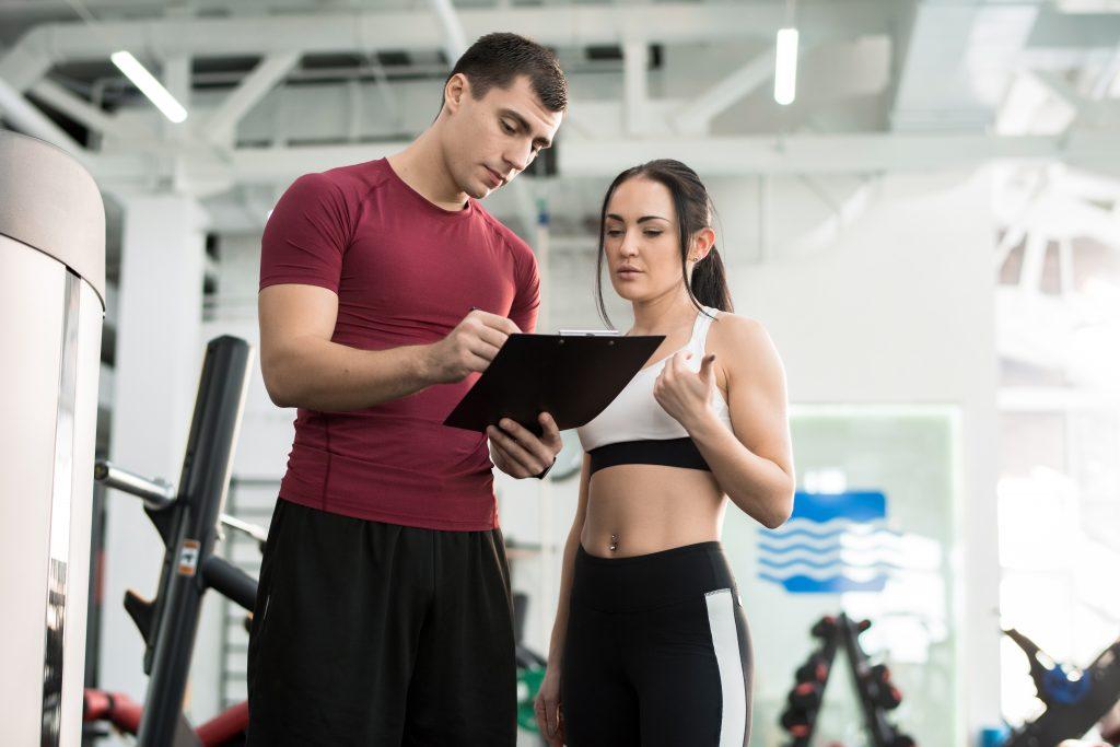prescrição e acompanhamento exercicio fisico